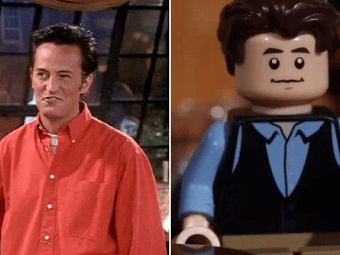 Friends' Matthew Perry approves of the new Lego set – because Chandler's the hottest
