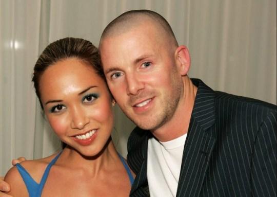 Myleene Klass with former husband Graham Quinn