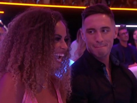 Love Island fans spot how Greg O'Shea looks at Amber Gill and romance isn't dead