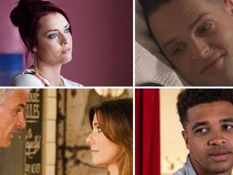 12 soap spoiler pictures: EastEnders Callum death shock, Coronation Street tragedy, Emmerdale outburst, Hollyoaks wedding drama