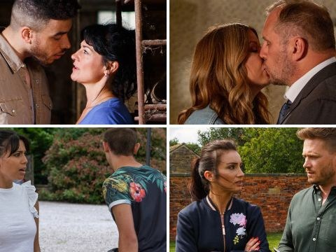 10 Emmerdale spoilers: Jacob and Maya's plan, Moira's sex mistake and Charity's bad news