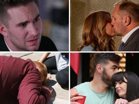 12 soap spoiler pictures: Coronation Street car crash, EastEnders killer revenge, Emmerdale reunion, Hollyoaks dead body