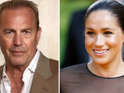Meghan Markle shouldn't return to acting now she's married, says Kevin Costner