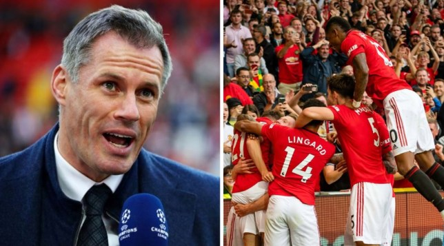 Jamie Carragher says Manchester United aren't 'miles away' from challenging for the Premier League title