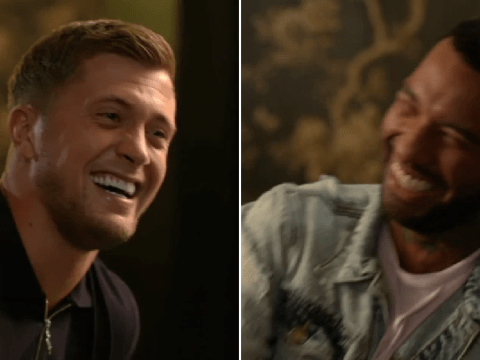 Celebs Go Dating's Jermaine Pennant and Dan Osborne in stitches over sexist joke