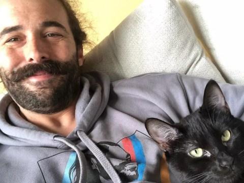 Queer Eye star Jonathan Van Ness 'hurting so bad' as he reveals death of pet cat