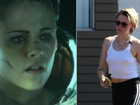 Kristen Stewart enjoys relaxing spa day as monster movie trailer Underwater drops