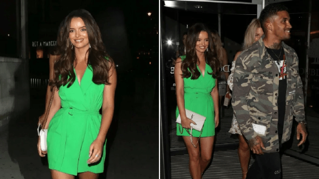 Love Island's Maura Higgins and Michael Griffiths