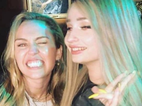 Miley Cyrus has 'one of the best voices of our generation' says Kim Petras after chance meeting