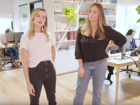 Margot Robbie teases Barbie movie with tour of stunning new office that's so pretty we could live there