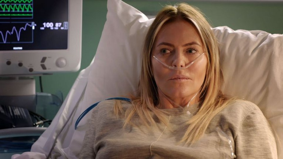 Patsy Kensit in Holby City