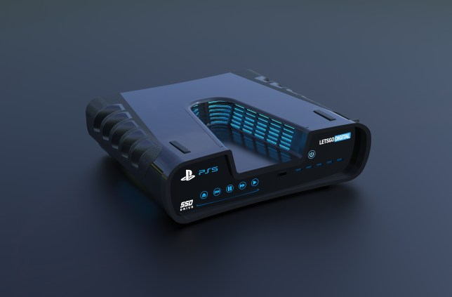 Do you think Sony would make the PS5 look like this? (pic: LetsGoDigital)