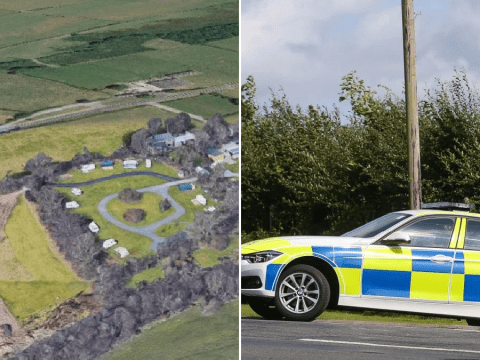 Man charged after car crashes into tents injuring four people