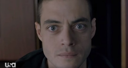 Rami Malek as Elliot Alderson in Mr Robot season 4 teaser