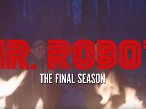 Rami Malek is in dangerous territory in eerie Mr Robot final season trailer