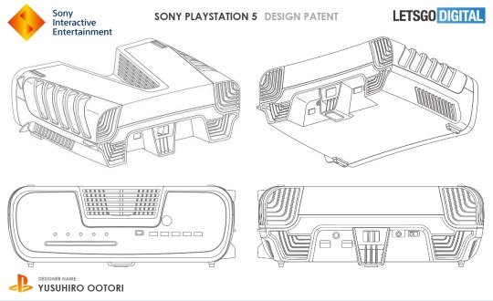 Is that big gap at the top a 'V' for PS5? (pic: LetsGoDigital)