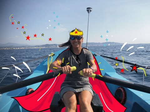 Strong Women: 'I learnt to swim last year, now I hope to be the oldest woman to row the Atlantic solo'