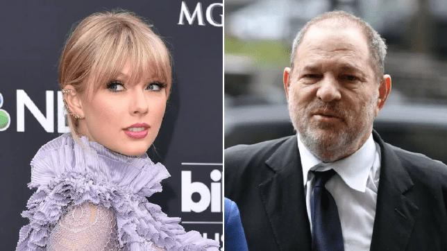Taylor Swift and Harvey Weinstein