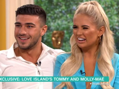 Love Island's Tommy Fury and Molly-Mae Hague shrug off online trolls who doubt their romance: 'We're in our bubble and happy'