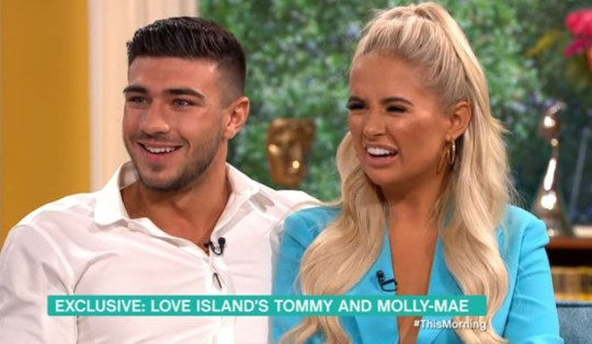 Tommy Fury and Molly-Mae Hague- This Morning