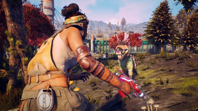 The Outer Worlds - explore new worlds and shoot their wildlife