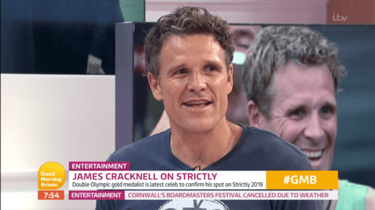 James Cracknell on Strictly Come Dancing
