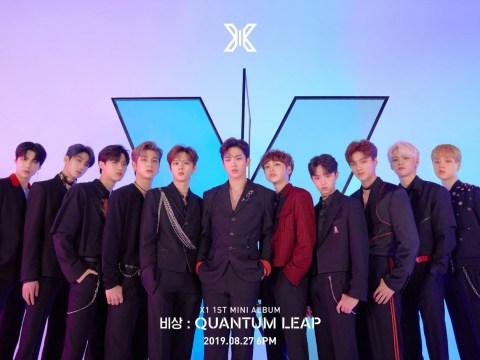 X1 smashes week one K-Pop sales record with debut album Quantum Leap