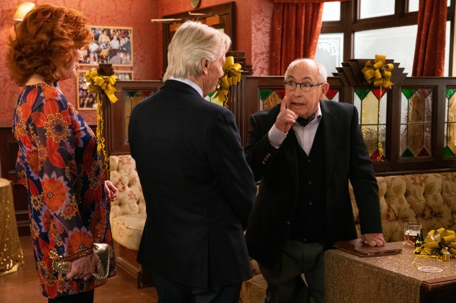Norris Cole and Ken Barlow in Coronation Street