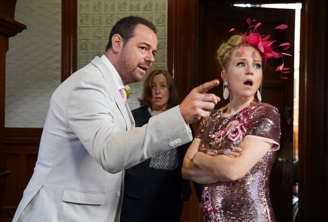 Mick and Linda EastEnders