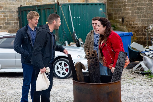 Emmerdale spoilers: Mandy Dingle swears revenge on Robert Sugden and Aaron Dingle
