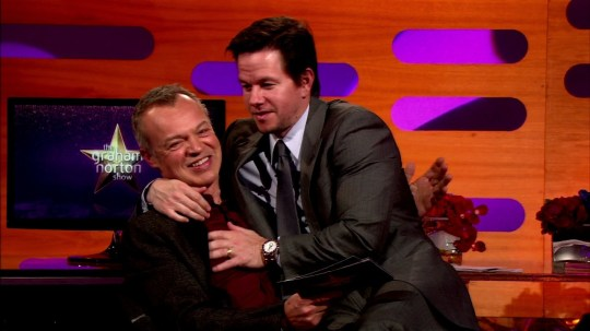 Mark Wahlberg on Graham Norton Show