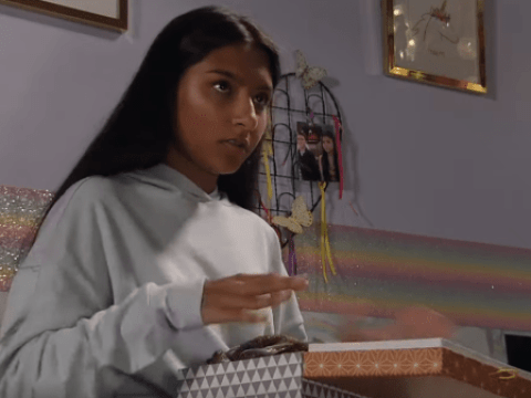 Is Asha self-harming in Coronation Street and why is she using skin-lightening cream?