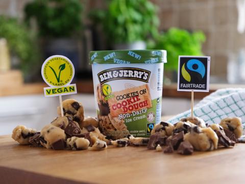 Vegan Ben & Jerry's Cookie Dough ice cream is finally here