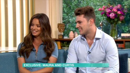 Love Island's Maura and Curtis