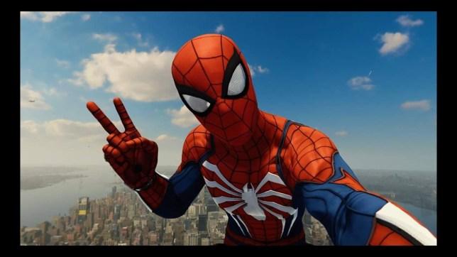 Marvel's Spider-Man photo mode