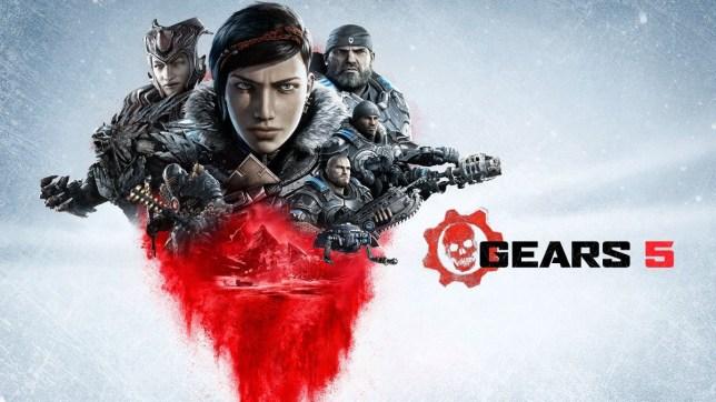 Gears 5 key art