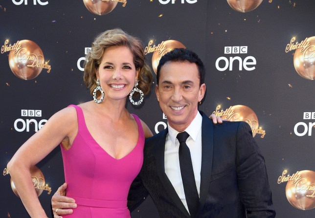 Darcey Bussell and Bruno Tonioli
