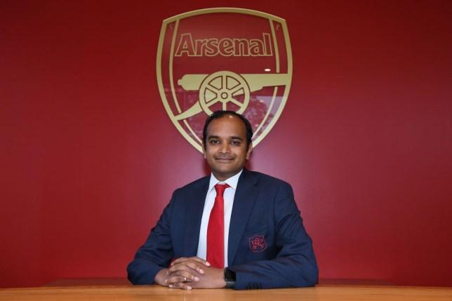 Arsenal chief Vinai Venkatesham outlines January transfer plans