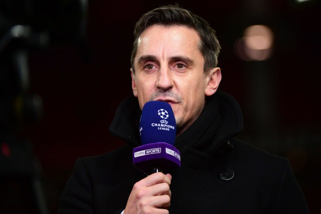 Gary Neville has reacted to David de Gea signing a new Manchester United deal