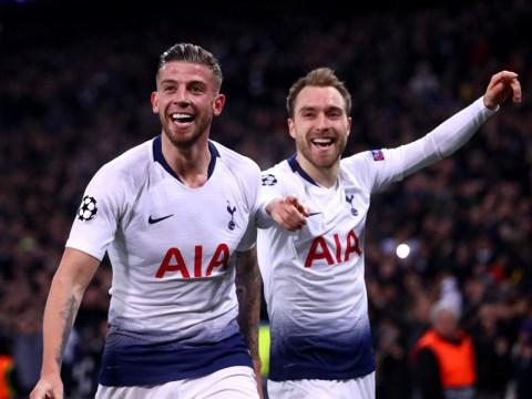 Juventus want Tottenham pair Christian Eriksen and Toby Alderweireld on free transfers
