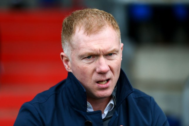Paul Scholes wants Ole Gunnar Solskjaer to strengthen in January
