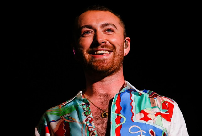 Sam Smith performs on stage during the Lollapaloosa Sao Paulo 2019