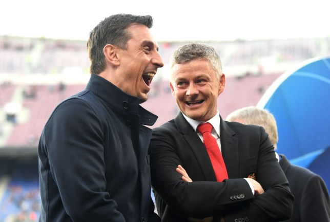 Gary Neville hopes Manchester United are patient with Ole Gunnar Solskjaer