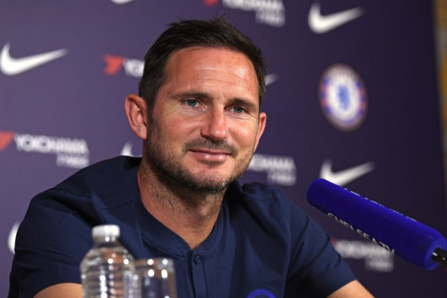 Frank Lampard has revealed Chelsea's target for the Champions League