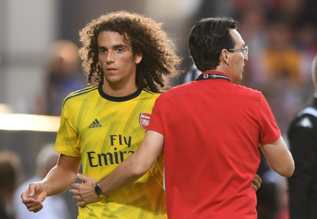 Matteo Guendouzi reveals chat with Arsenal boss Unai Emery after France call-up