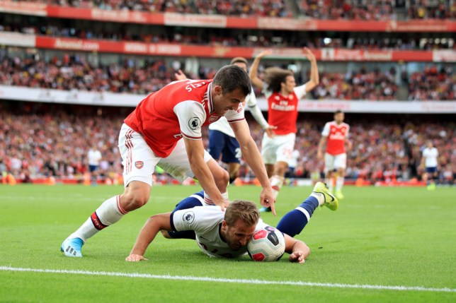 Image result for harry kane's goal vs arsenal