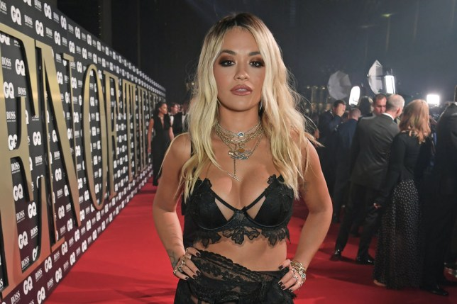Rita Ora attends the the GQ Men Of The Year Awards 2019