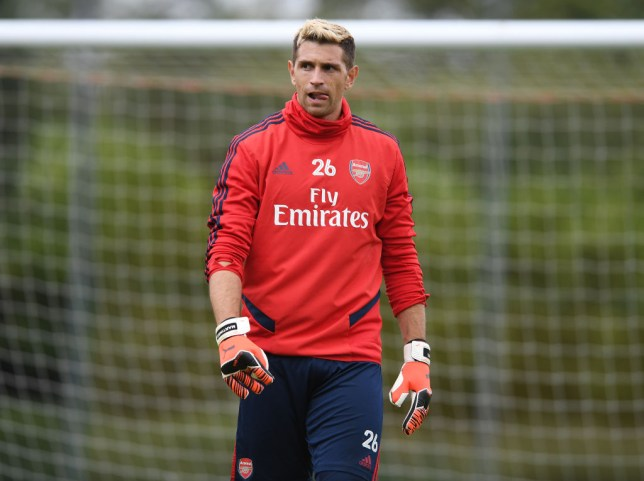 Emiliano Martinez was ready to leave Arsenal this summer