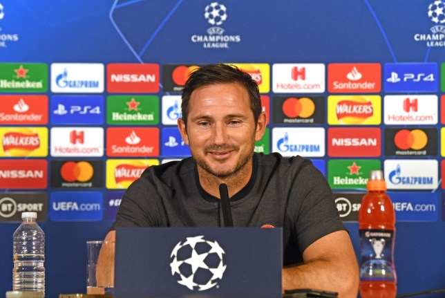 Frank Lampard answers questions ahead of Chelsea's clash with Valencia