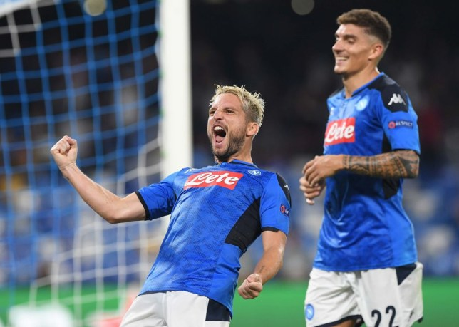 Liverpool fall to two late Napoli goals in poor start to Champions League defence